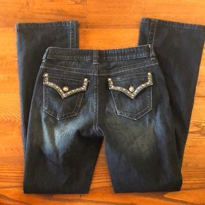 **LAST CHANCE** Apt 9 Boot cut Curvy Jeans